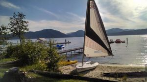 sandy boat